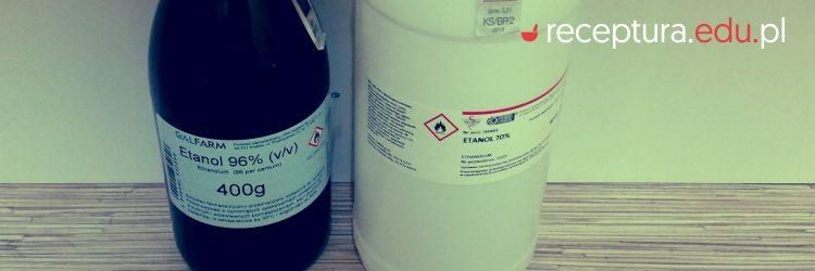etanol wycena