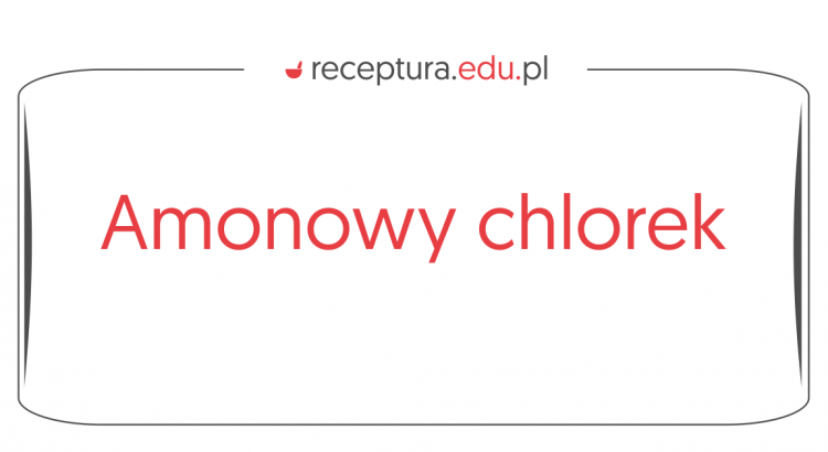 amonowy chlorek